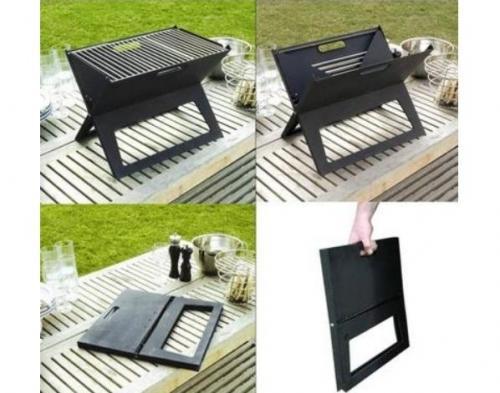 Sammenklappelig grill   Møbler til terrassen og haven