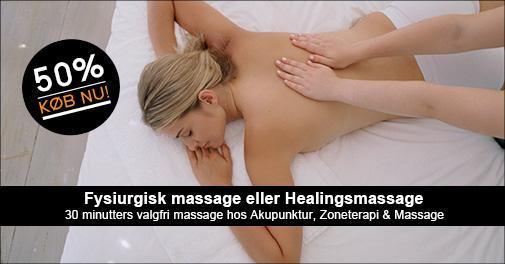 ebmassage for første gang