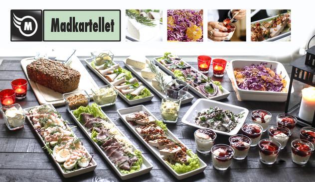 Traditionel dansk julefrokost buffet (24/11-2015)