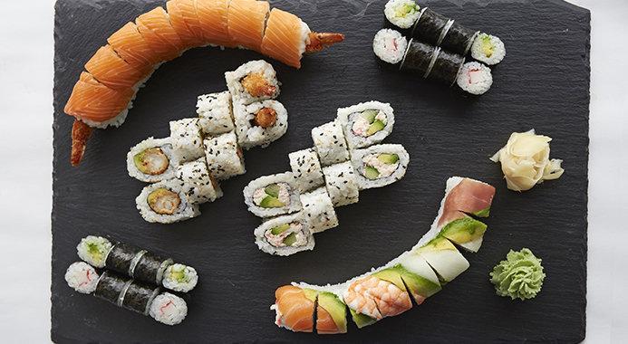 bedste running sushi sjælland