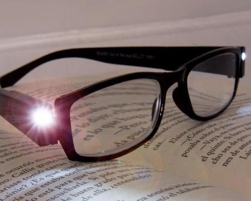 læsebriller med lys