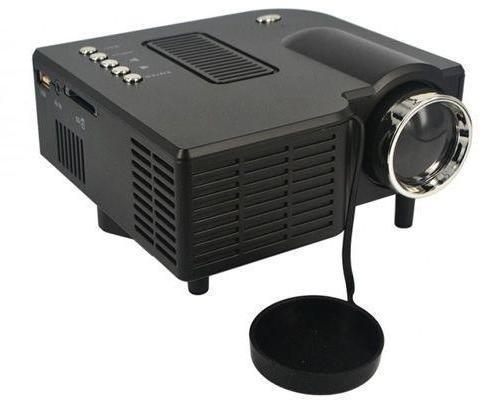 Tilslut projektoren til modtageren
