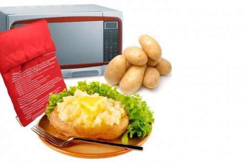 Bagekartoffel mikroovn