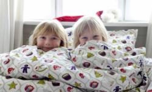 sengetøj med julemotiv Økologisk sengesæt med julemotiv (30/11  0001) sengetøj med julemotiv